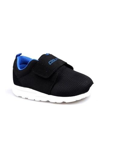 Cool 20-S22 Siyah Erkek Çocuk Bebe Fileli Günlük Spor Ayakkabı Siyah